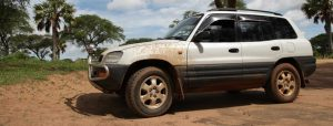 Toyota RAV4 (5 doors) for rent and self-drive in Tanzania